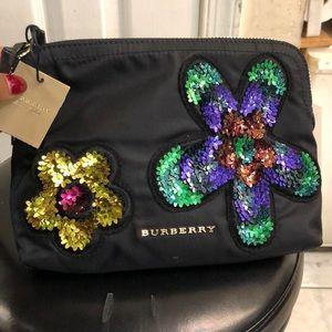 Burberry makeup bag